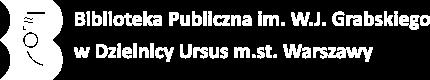 Biblioteka Publiczna w Dzielnicy Ursus Logo