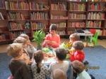 """Lekcje biblioteczne w Filii """"Gołąbki"""""""