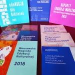 Edukacja czytelnicza w ramach Warszawskiego Programu Edukacji Kulturalnej