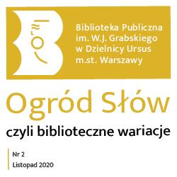 """II wydanie pisma bibliotecznego """"Ogród Słów, czyli biblioteczne wariacje"""""""