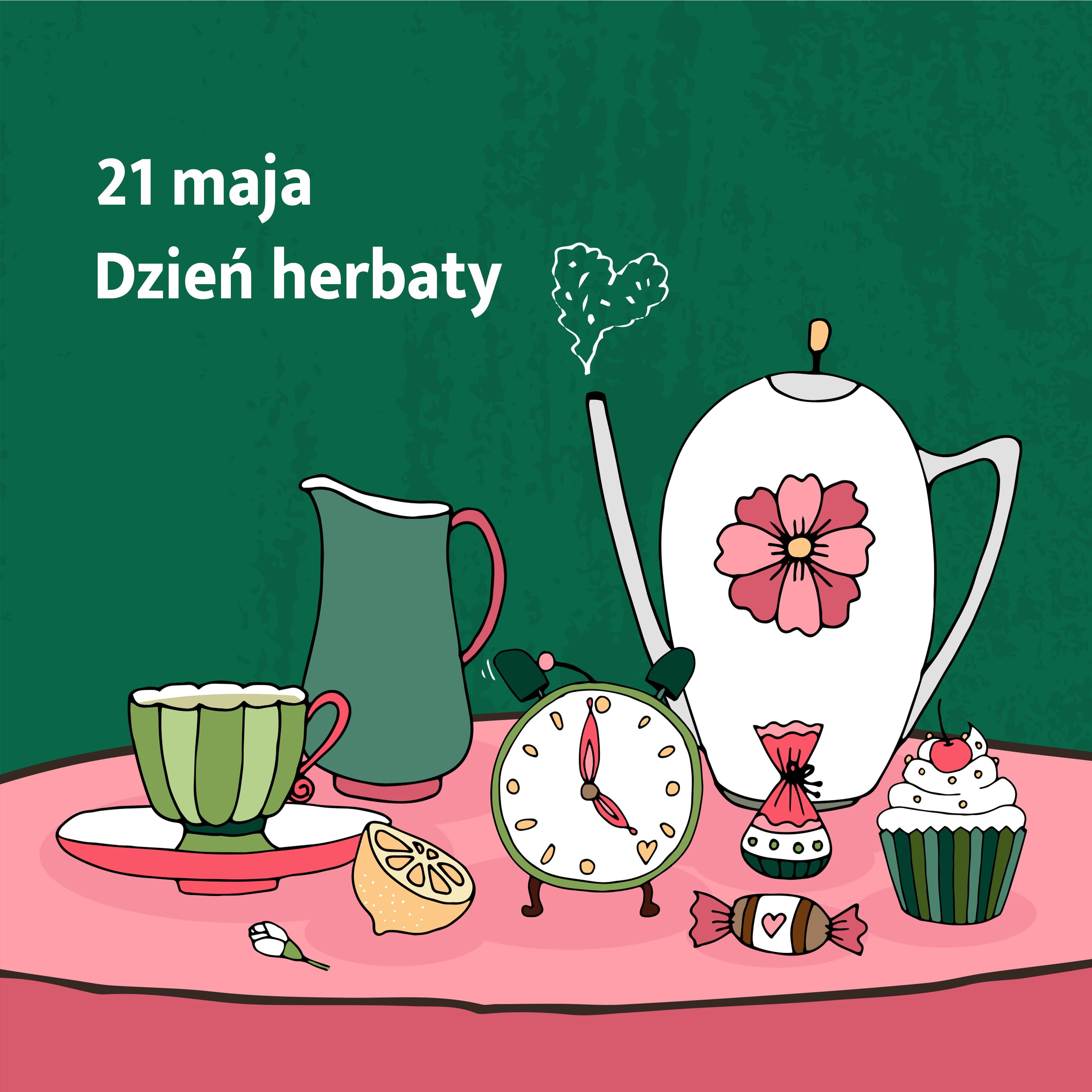 Nagrody za udział w konkursie z okazji Dnia Herbaty
