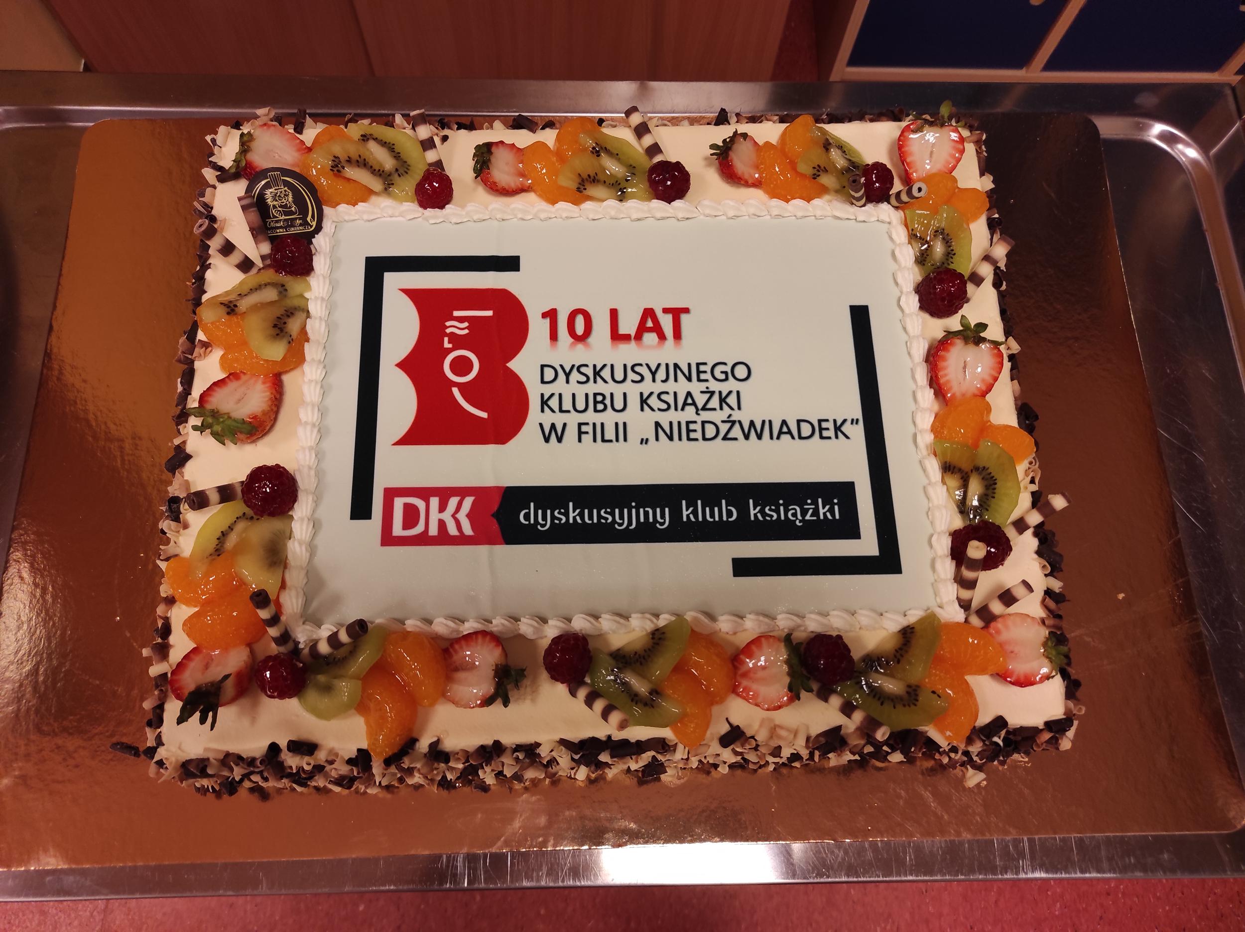 tort 10-lecie DKK